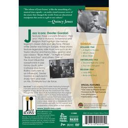 Dexter Gordon - Live in '63 & '64 (Jazz Icons) [DVD]